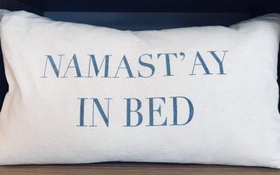 5 yoga houdingen om beter te slapen