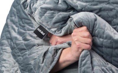 Rustiger slapen met een zwaartekracht deken